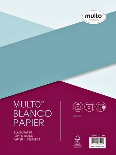 INTERIEUR MULTO 23R BLANCO 80GR 50V -RINGBANDINTERIEURS 3007310150 Interieur multo 23r blanco 80gr 50v