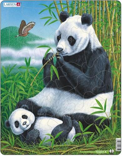 Larsen puzzel - Panda - D5