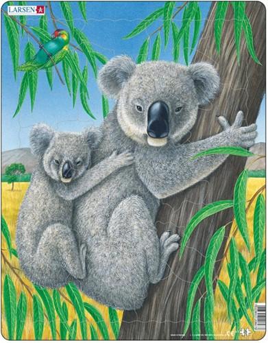 Larsen puzzel - Koala - D7