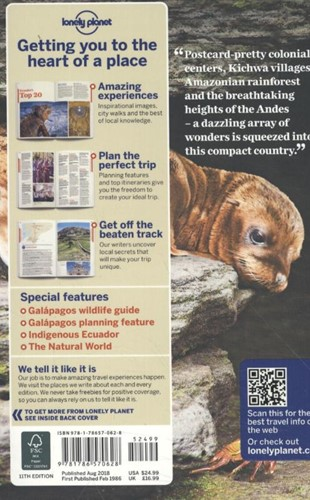 Lonely Planet Ecuador & the Galapago-2