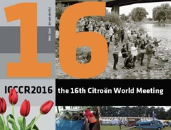 ICCCR 2016, naslagwerk over de 16e Citro -the 16th Citroen world meetin g