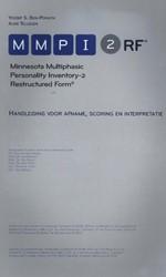 MMPI-2-RF -handleiding voor afname, scori ng en interpretatie Ben-Porath, Yossef S.