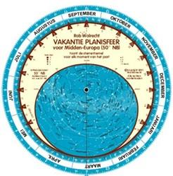Nederlandse vakantie-planisfeer voor Mid Walrecht, Rob