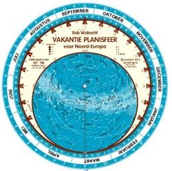 Nederlandse vakantie-planisfeer voor Noo Walrecht, Rob
