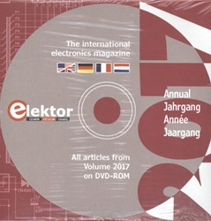 DVD Elektor 2017 -the international electronics magazine