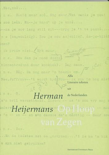 Op hoop van zegen -spel van de zee in vier bedrij ven Heijermans, Herman