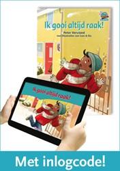 Samenleesboek - Ik gooi altijd raak! -inclusief code voor geanimeerd e versie Vervloed, Peter