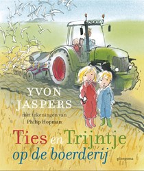 Ties en Trijntje op de boerderij Jaspers, Yvon