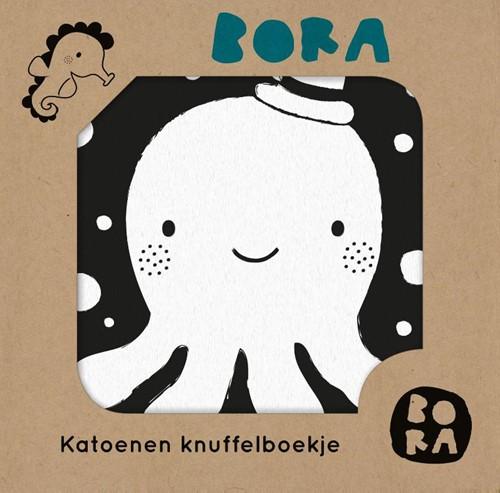 Bora in het water -Katoenen knuffelboekje Leijgraaf, Deborah van de