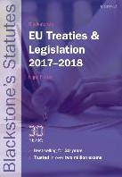 Blackstone's EU Treaties & Legi