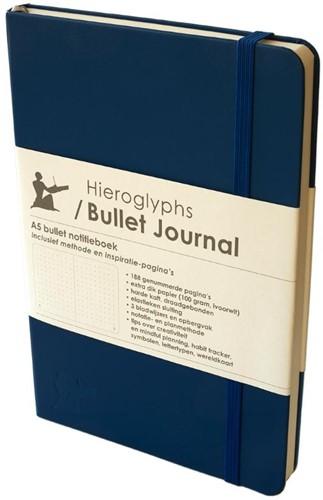Hieroglyphs Bullet Journal -Donkerblauw