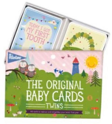 Baby photo cards twins original Broekhuis, Gemma