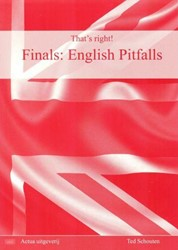 English Pitfalls That's right! Schouten, Ted