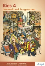 Kies 4 -leerwerkboek burgerschap Beekhuizen, Menno