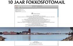 10 JAAR FOKKOSFOTOMAIL STRAATEN, FOKKO VAN DER