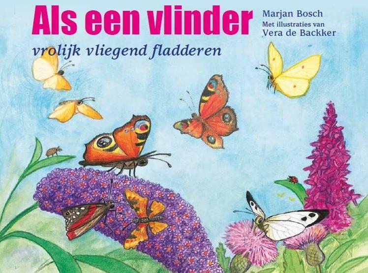 Bekend Als een vlinder -vrolijk vliegend fladderen Bosch, Marjan bij &JJ56