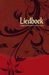 Liedboek Rood kunstleer -zingen en bidden in huis ern k erk Interkerkelijke Stichting voor