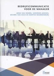 Bedrijfscommunicatie voor de manager Doorn, Arno van