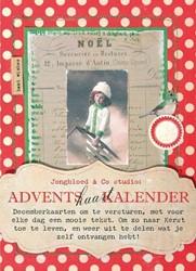 Adventskaartkalender Jongbloed & Co studio