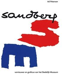 Sandberg -graficus en directeur van het Stedelijk Museum Petersen, Ad