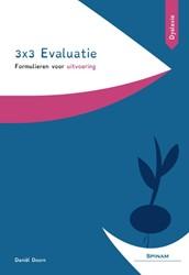 3x3 Evaluatie -formulieren voor uitvoering (d yslexie) Doorn, Daniel