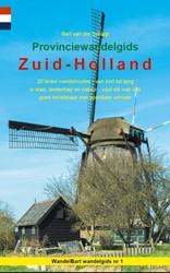 Provinciewandelgids Zuid-Holland -20 leuke wandelroutes - van ko rt tot lang - in stad, landsch Schagt, Bart van der