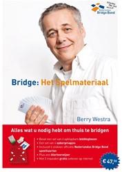 Bridge: het spelmateriaal -bevat: 4x biddingboxen - 4x op bergmapjes - 4x stok speelkaar Nederlandse Bridge Bond
