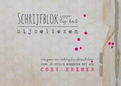 Bijschrift - vragen en creatieve schrijf -vragen en opdrachten voor je s tille momenten met God Kremer, Coby