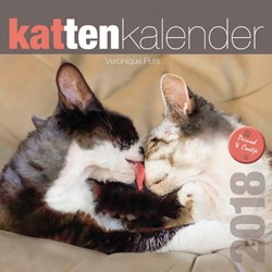 Kattenkalender 2018 Puts, Veronique
