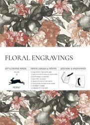 Floral Engravings - Gift & Creative -Vol. 79 Gift & Creative Pa Book Van Roojen, Pepin