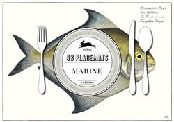 Marine -Paper Placemat Pads Roojen, Pepin van