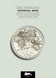 Historical Maps -Label & Sticker Book Roojen, Pepin van