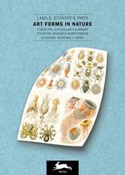 Art Forms in Nature - Label & Sticke -label & Sticker Book Van Roojen, Pepin
