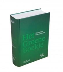 Het Groene Boekje -Woordenlijst Nederlandse Taal Nederlandse Taalunie