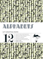 ALPHABETS -GIFT & CREATIVE PAPER BOOK