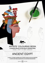 Ancient Egypt - Artists' Colouring -artists' colouring book Roojen, Pepin van