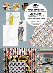 Art Deco Fashion & Style - Paper Cra -paper craft book