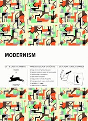 Modernism -Vol. 70 Gift & Creative Pa Book Van Roojen, Pepin