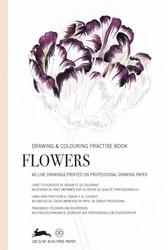 Flowers - Drawing & Colouring Practi -drawing & Colouring Practi ook Van Roojen, Pepin