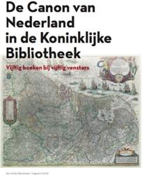 De canon van Nederland in de Koninklijke -Vijftig boeken bij vijftig ven sters Bos, Jan J.