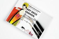 ART DECO FASHION - POSTCARD COLOURING BO -postcard colouring book; 20 su perior watercolour cards Roojen, Pepin van