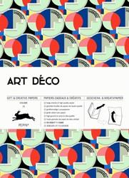 Art Deco -gift & creative paper book Van Roojen, Pepin