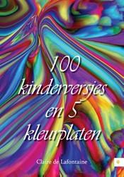 100 kinderversjes en 5 kleurplaten Lafontaine, Claire de