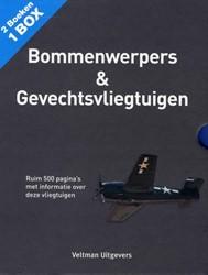 BOEKENBOX: GEVECHTSVLIEGTUIGEN & BOM -RUIM 500 PAGINA'S MET INF IE OVER DEZE VLIEGTUIGEN CROSBY, FRANCIS