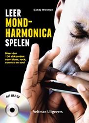 Leer mondharmonica spelen -meer dan 100 akkoorden voor bl ues, rock, country en soul Weltman, Sandy