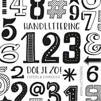 Handlettering 123 doe je zo cijfers symbolen luttenberg karin bij kantoorboekhandel laan - Hoe u stuks scheidt ...