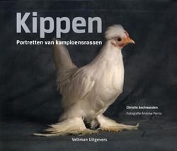 Kippen -portretten van kampioensrassen Aschwanden, Christie