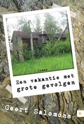 Een vakantie met grote gevolgen Salomons, Geert