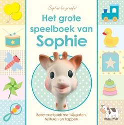 Het grote speelboek van Sophie -baby-voelboek met kijkgaten, t exturen en flappen