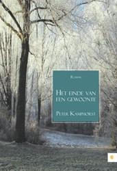 Het einde van een gewoonte Kamphorst, Peter